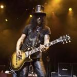 Slash, der Gitarrengott mit dem schwarzen Zylinder