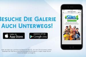 Die Sims 4 Galerie-App ab sofort kostenlos erhältlich