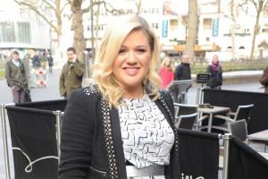 Kelly Clarkson hat im Studio geheult