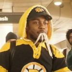 Kendrick Lamar rappt auf fahrendem Truck