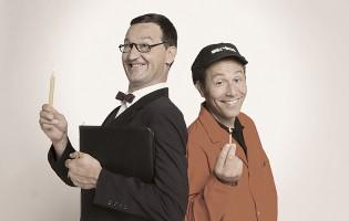 Duo Lapsus auf Jubiläumstournee