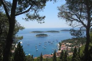 Kroatische Insel auf der Themse