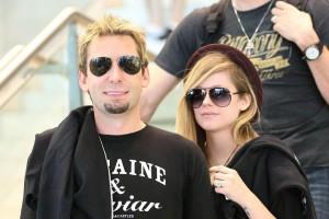 Avril Lavigne und Chad Kroeger gemeinsam im Studio