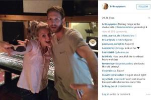 Britney Spears zurück im Studio
