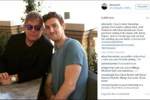 Sir Elton John arbeitet mit Clean Bandit