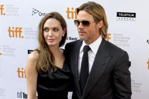 Auch Angelina Jolie und Brad Pitt haben so ihre Probleme