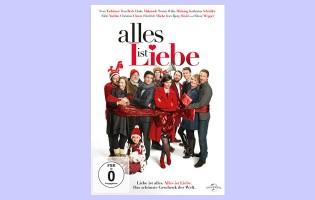 """Gewinne eine DVD von der vorweihnachtlichen Romantik-Komödie """"Alles ist Liebe"""""""