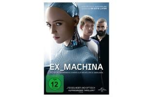 """Zu Gewinnen: DVD vom Science-Fiction-Thriller """"EX_MACHINA"""""""