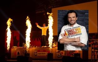 Zwei signierte Kochbücher von TV-Koch Steffen Henssler zu gewinnen