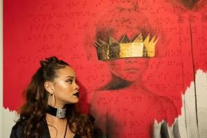 Rihanna performt bei den 'BRIT Awards'