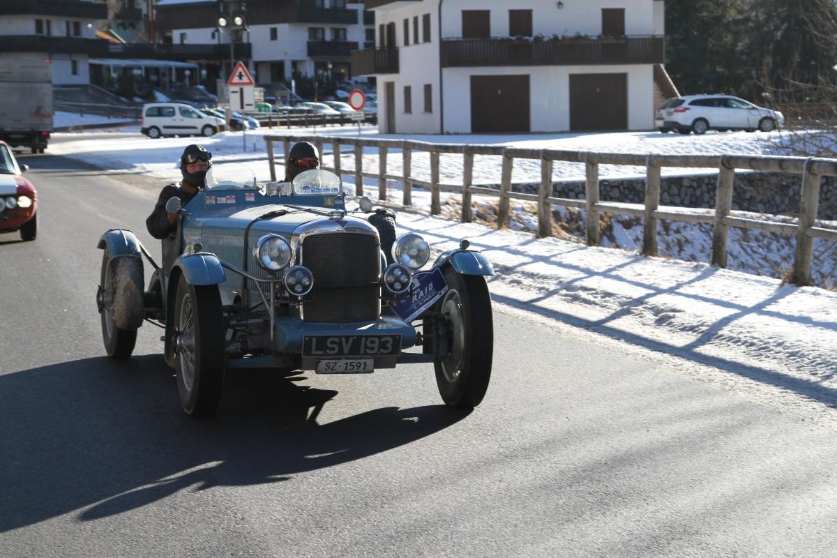 Winterraid St Moritz Spektakul 228 Re Oldtimer Rallye Wie