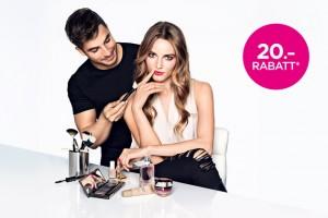 Erhalte 20 Franken Rabatt auf deine Lieblings-Beautyprodukte bei Manor