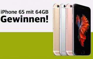 iPhone 6S 64Gb in Wunschfarbe zu gewinnen