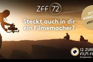 Film Contest ZFF 72: Steckt auch in dir ein Filmemacher?