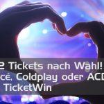 Gewinne mit TicketKing.ch 1×2 Konzerttickets für Adele, AC/DC, Coldplay oder Beyoncé