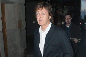 Paul McCartney: Alkohol-Beichte