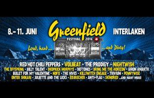 4-Tagespässe für das Greenfield Festival Interlaken im Wert von je 260 Franken zu gewinnen