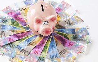 Gewinne 250 Franken in bar für dein Sparschwein