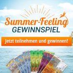 Gewinne 1'000 Franken in bar beim grossen Sommer-Feeling Gewinnspiel