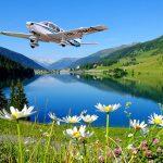 Gewinne einen Alpenrundflug über die Ferienregion Davos