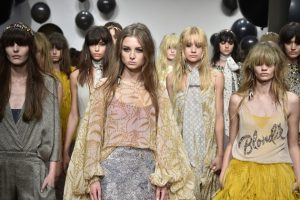 Catwalk-Looks der Fashion Week