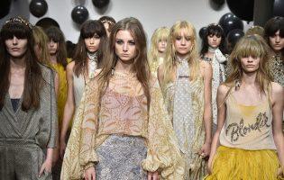 Catwalk-Looks der Fashion Week