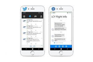 London City Airport informiert Passagiere via Facebook Messenger
