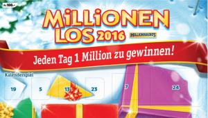 1 million gewinnen