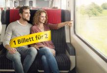 Duo-Tageskarte für Zug, Postauto und Schiff - 1 Billett für 2