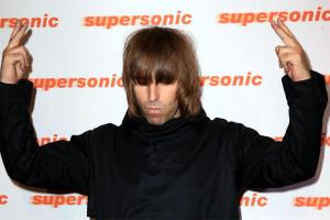 Liam Gallagher spielt live mit Richard Ashcroft