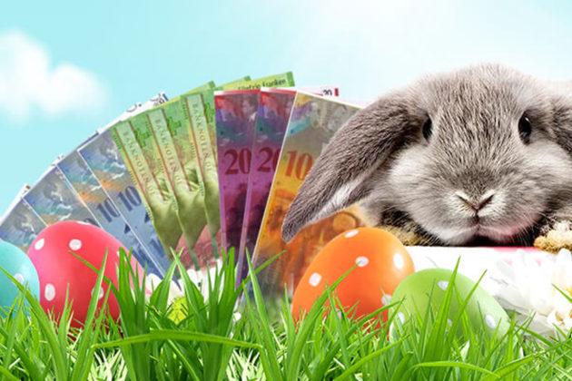 Gewinne 1'000 Franken in bar beim grossen Oster-Gewinnspiel