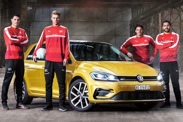 Gewinne mit VW ein Meet&Greet mit den Schweizer Nati-Stars