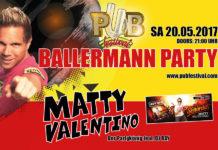 """Tickets für die """"Pub Festival Ballermann Party"""" vom 20. Mai zu gewinnen"""