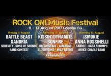 Tickets für das ROCK ON! Music Festival in Gossau zu gewinnen