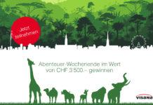 Gewinne ein Abenteuer-Wochenende mit der Familie im Wert von 3'500 Franken