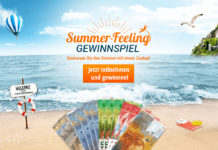 Gewinne 1'000 Franken in bar beim grossen Summer-Feeling-Gewinnspiel