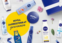 Gewinne einen Jahresvorrat an NIVEA Pflege-Produkten