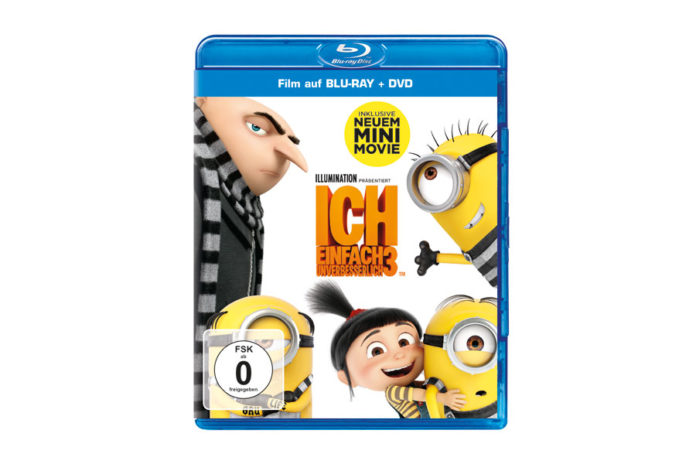 """Blu-ray von """"Ich – Einfach unverbesserlich 3"""" zu gewinnen"""
