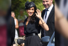 Herzogin Meghan: BH-Blitzer bei royaler Hochzeit