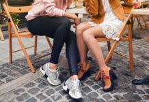 Sneaker, Sock-Boots und rockige Stiefel: Die Schuhtrends im Herbst