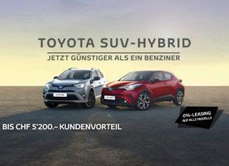 Toyota SUV-Hybrid – Jetzt günstiger als ein Benziner