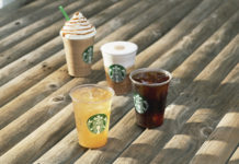 Summer Feeling bei Starbucks