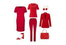 """""""Lady in Red"""" mit Mode von Cornelia"""