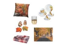 Herbst-Vorboten fürs Wohnzimmer von Cornelia