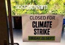 SodaStream schliesst sich Klimastreik an