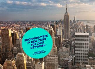 Gewinne eine Shopping-Week in New York für zwei Personen
