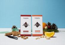 Protein Chocolate und Fruit Jam meet Winter