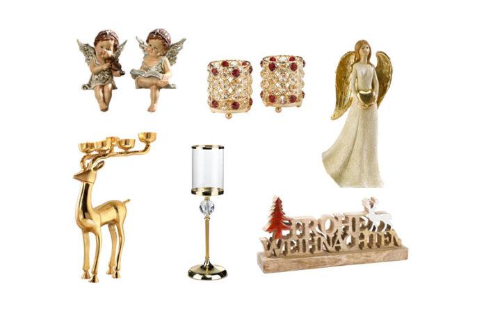 Weihnachtliche Deko von Veillon