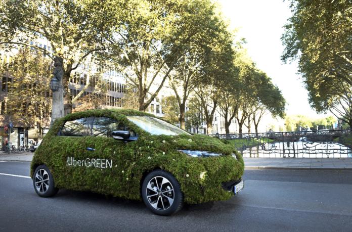 "Uber bringt ""Uber Green"" in Schweizer Grossstädte"