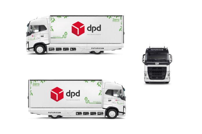 DPD setzt auf Elektro-Mobilität mit dem e-LKW